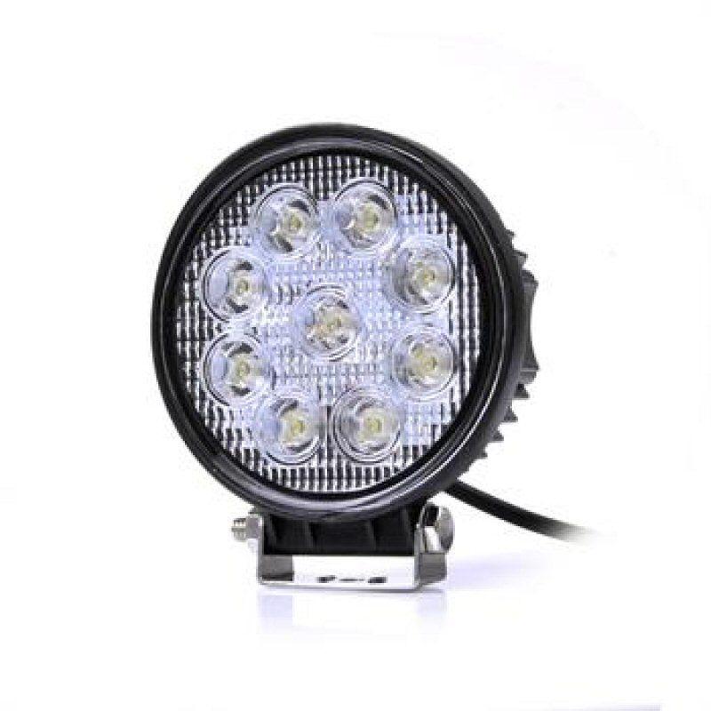 LED Richtlamp 27W 12V / 24V DC Rond