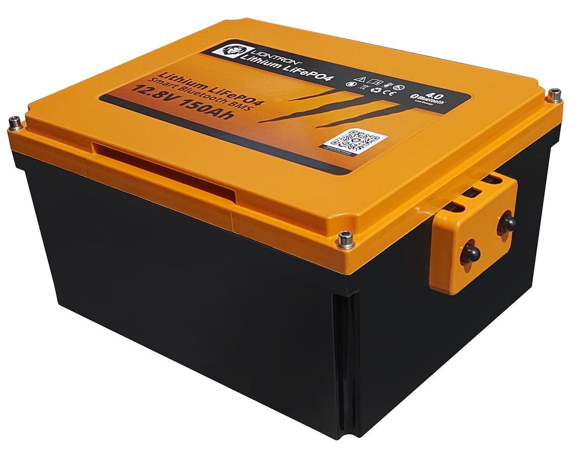 LionTron LiFePO4 12,8V 200Ah 2560Wh Camper Onder de Stoel