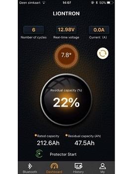 LionTron LiFePO4 12,8V 40Ah 512Wh LX Smart BMS met Bluetooth