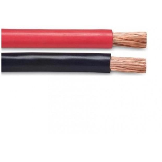 TwinFlex Snoer 2x 4,0 mm2. (per meter) rood/zwart