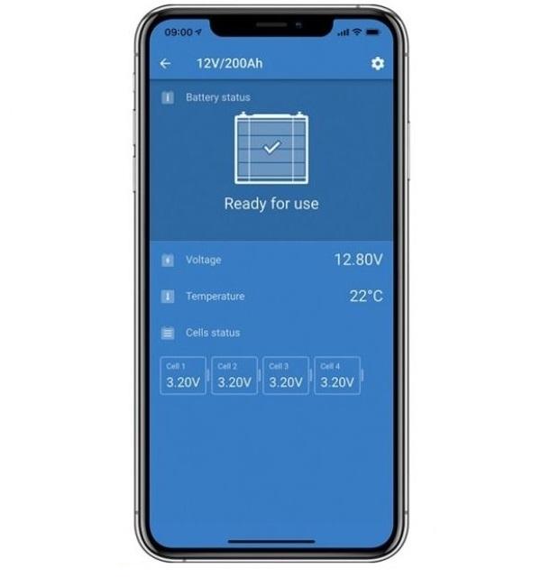Victron Lithium LifePo4 Battery 12,8 Volt 200Ah Smart