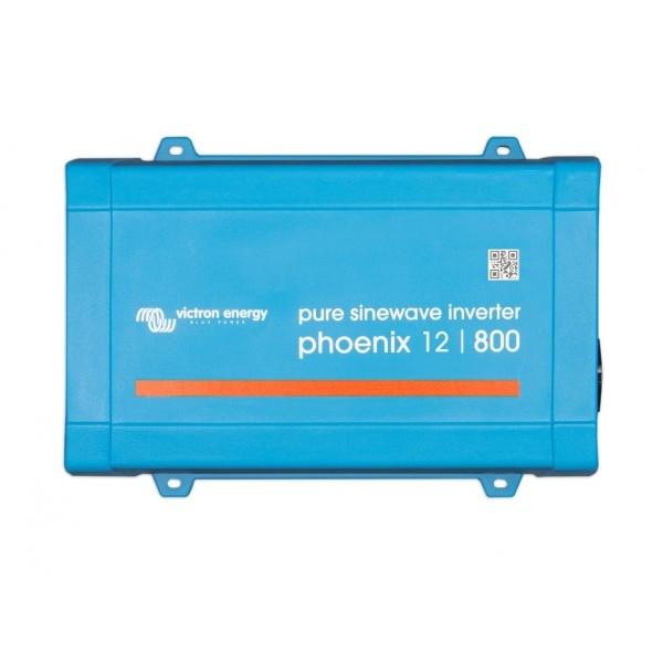 Victron Phoenix 12/800 650W Omvormer 12V naar 230V