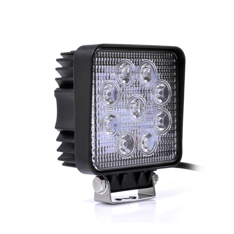 Westech LED Richtlamp 27W 12V / 24V DC Rechthoekig