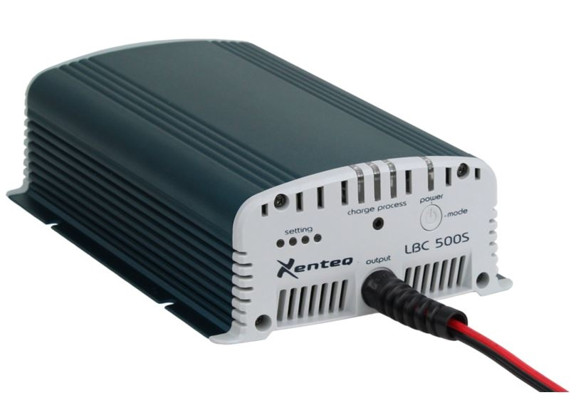 Xenteq Acculader Voeding LBC 512-10S | 230Vac, 12Vdc, 10Amp