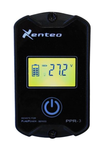 Xenteq PPR3 Afstandsbediening met display voor PPI Inverters