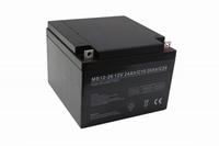 Centrac Dual Power AGM Accu MB12-24 12V 24Ah (C20)