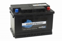 Centrac Dual Power Accu DP75 12 Volt 75 Ah
