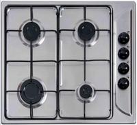 Etna RVS Inbouw Kookplaat 4 Pits Beveiligd