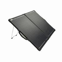100 Watt 12V Mobiel Portable Ultra Light ETFE Solarkoffer