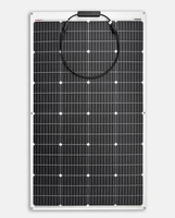 150W Semi Flexibel Solarpanel Back Contact SunPower 1460x540