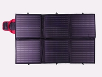 120 Watt 12V Portable Opvouwbare Solartas