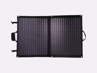 100 Watt Mobiel Portable Full Black Ultra Light Solartas