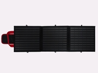 50 Watt 12V Portable Full Black Opvouwbare Solartas