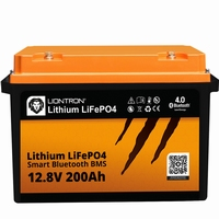 LionTron LiFePO4 12,8V 200Ah 2560Wh LX Smart BMS Bluetooth