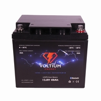 NRG LiFePO4 Lithium Batterij 12,8 Volt 40Ah 512Wh