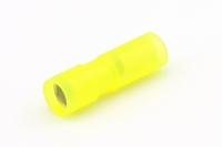 Rondstekerhuls geel voor 4 - 6 mm² draad Ø 7,9 mm