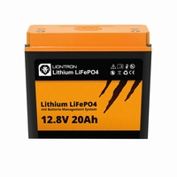 LionTron Lithium LifePO4 Battery 12,8 Volt 20Ah 256Wh