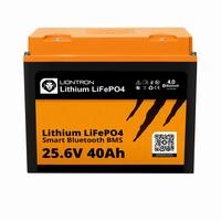 LionTron Lithium LifePO4 Battery 25,6 Volt 40Ah 1024Wh