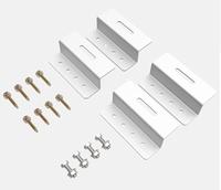 Aluminium Montage Set Zonnepanelen Z-beugels b.100mm h.30mm