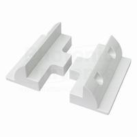EnjoySolar® Koppel Stukken ABS Kunststof 180mm Wit