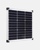 30 Watt Zonnepaneel Monokristal afm: 510x455 mm.