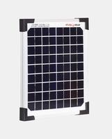 5 Watt Zonnepaneel Monokristal afm: 230x185 mm.