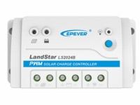 EPEVER LS2024B 12V/24V 20 Ampere Accu Laadregelaar