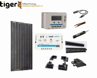 170 Watt Zonnepaneel Set Mono Full Black 1460x664 mm