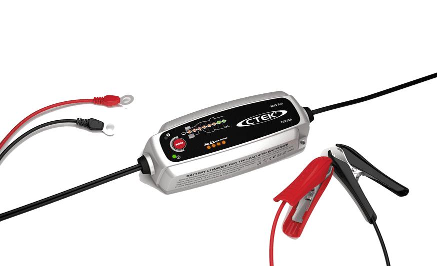 CTEK Acculader Model MXS 5.0