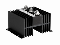 Laadstroomverdeler Xenteq 12/24Vdc, Max 90Amp, 2 uitgangen