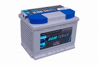 Intact AGM Power Accu 12 Volt 55 Ah