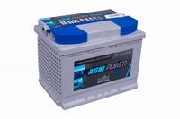 Intact AGM Power Accu 12 Volt 55 Ah