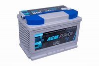 Intact AGM Power Accu 12 Volt 65 Ah
