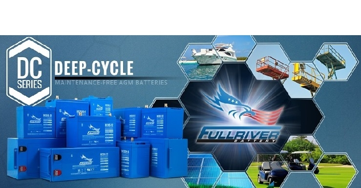 Accu AGM Full River Deep Cycle | 20Ah t/m 220Ah