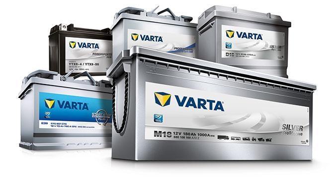 Accu AGM Varta | 60Ah t/m 260Ah