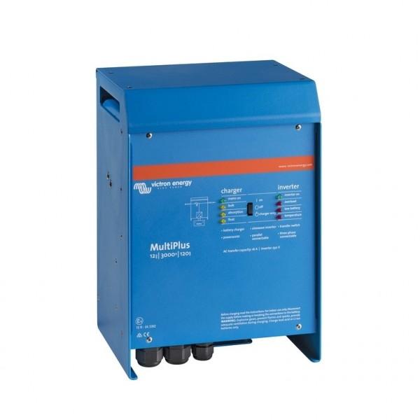 Acculaders Combi Omvormers 12V/24V>230V Victron