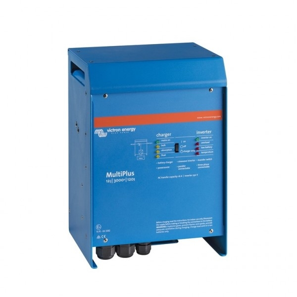 Acculaders Combi Omvormers Victron