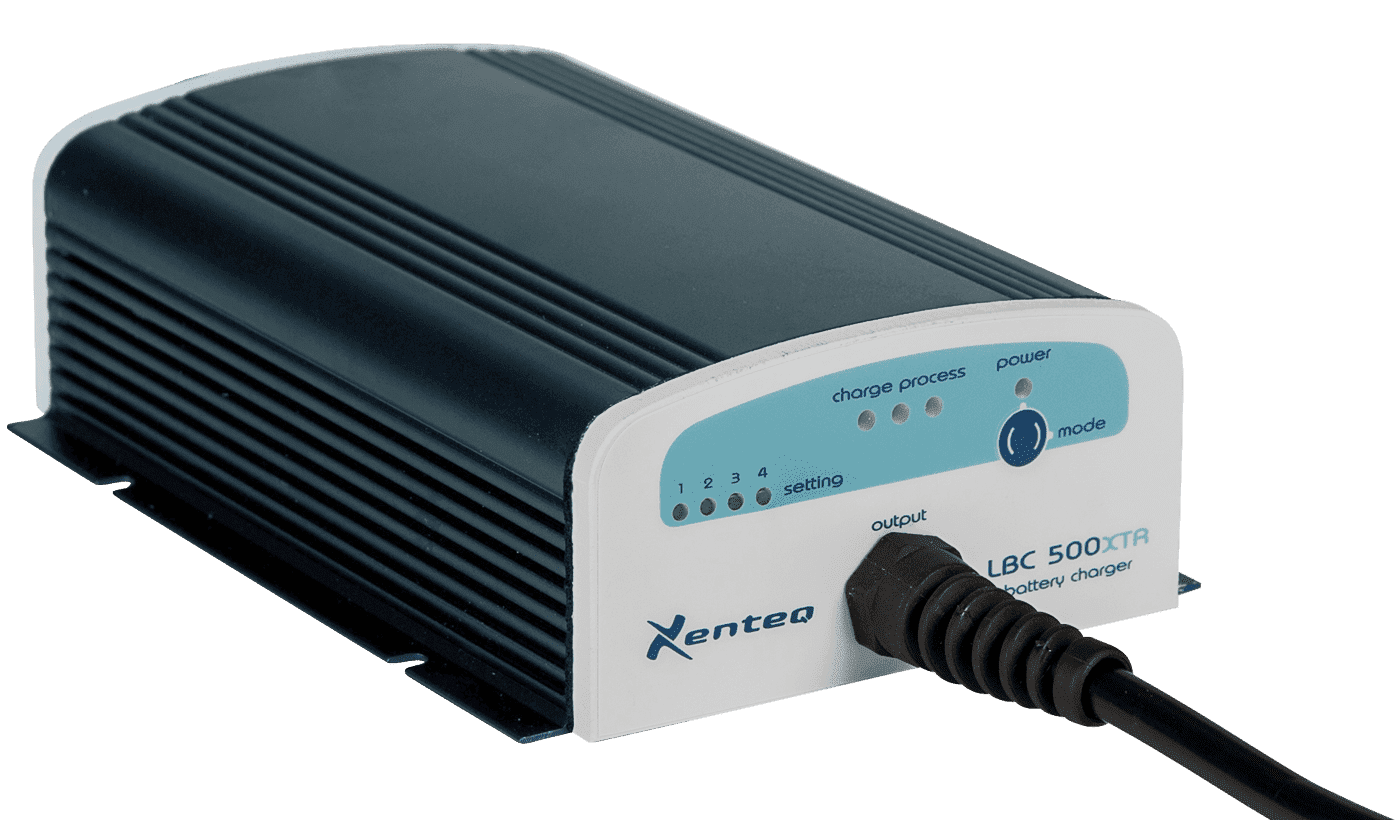 Acculaders met Voeding Xenteq