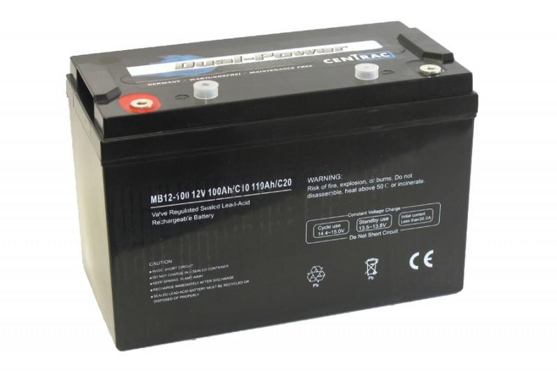 AGM Dual Power Accu's Centrac | 1.2Ah t/m 250Ah
