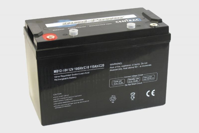 AGM Dual Power Accu's Centrac | 5Ah t/m 250Ah