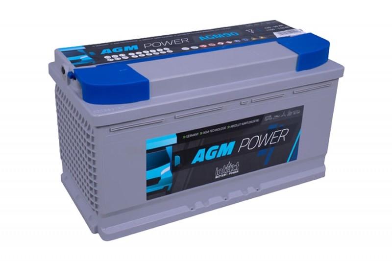 Intact AGM Power Accu's | 55Ah t/m 200Ah