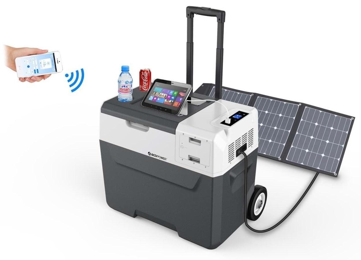 Koel- Vriesbox AcoPower met Accu Batterij 12V/24V