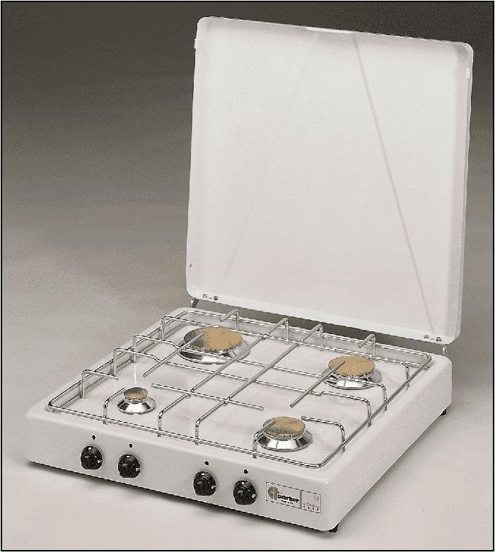 Kooktoestellen 4 Pits  Parker Exquisit en Etna