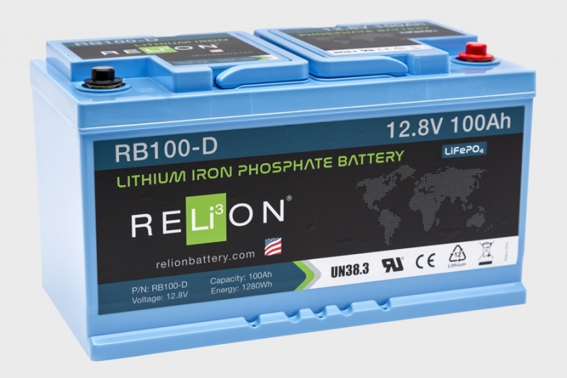 Relion Lithium LiFePo4 Batterij | 5Ah t/m 300Ah