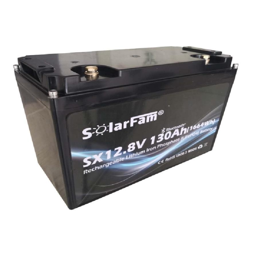 Solarfam Lithium LiFePo4 Batterij | 55Ah t/m 200Ah