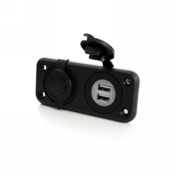 Stopcontacten USB   12V/230V Stekkers