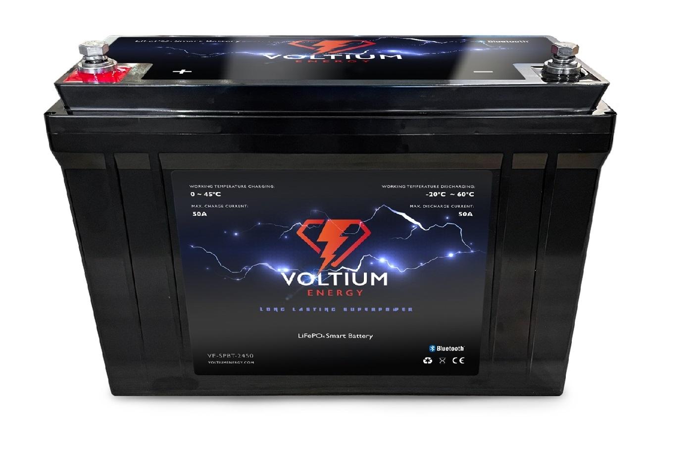 Voltium Energy LiFePO4 Batterij | 9Ah tm 200Ah