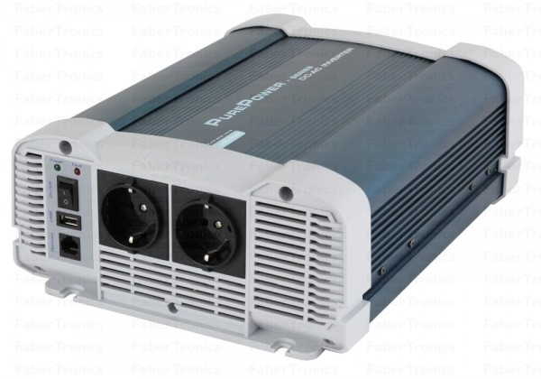 Xenteq PurePower 24 Volt - 230 Volt Zuivere Sinus