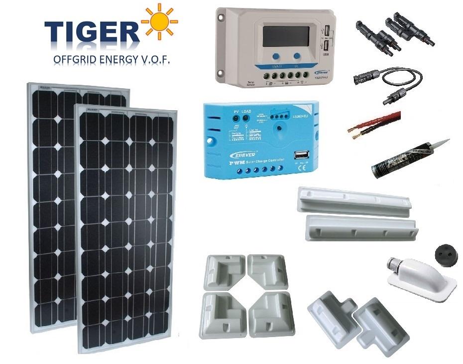 Zonne-Energie | 12/24/48V Off-Grid