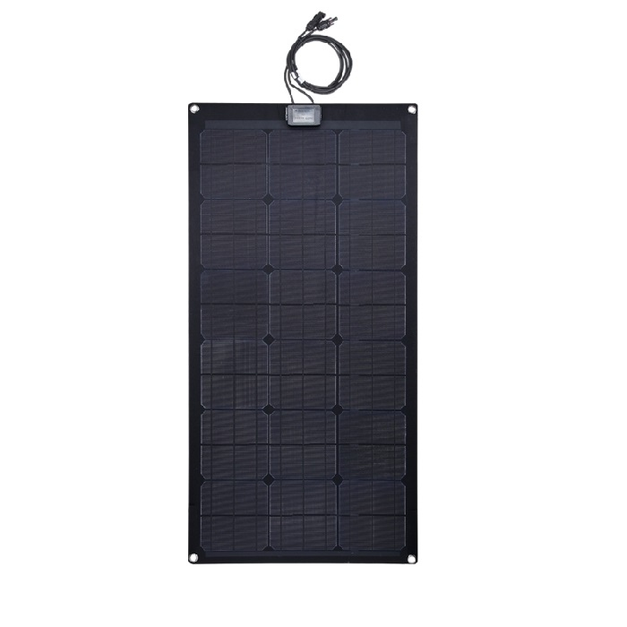 Zonnepanelen Flexibel Full Black Mono 20W-130W